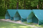 Tents with undercoats